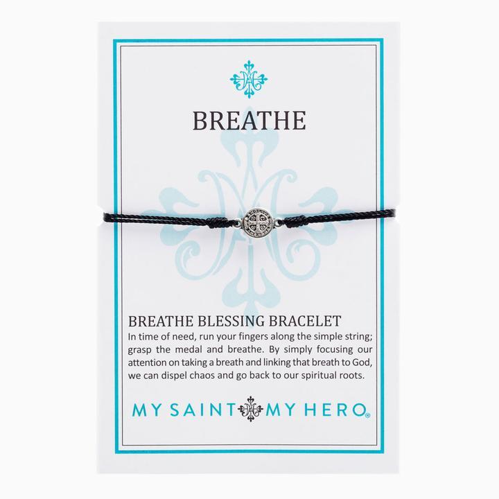 Black Breathe Bracelet | Shasta Rainbow Angels