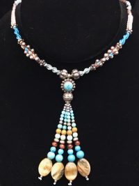 Isha Turquoise & Sterling Silver Necklace | Shasta Rainbow Angels
