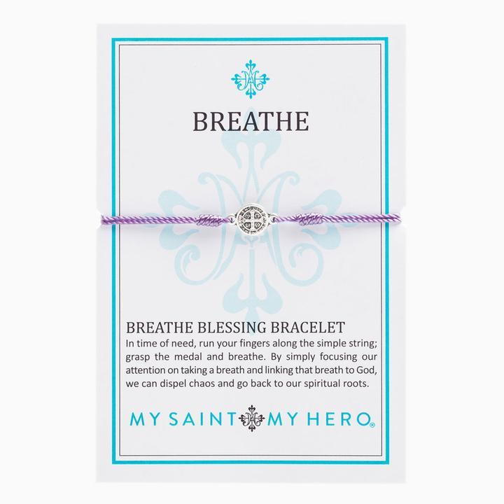 Purple Breathe Bracelet | Shasta Rainbow Angels