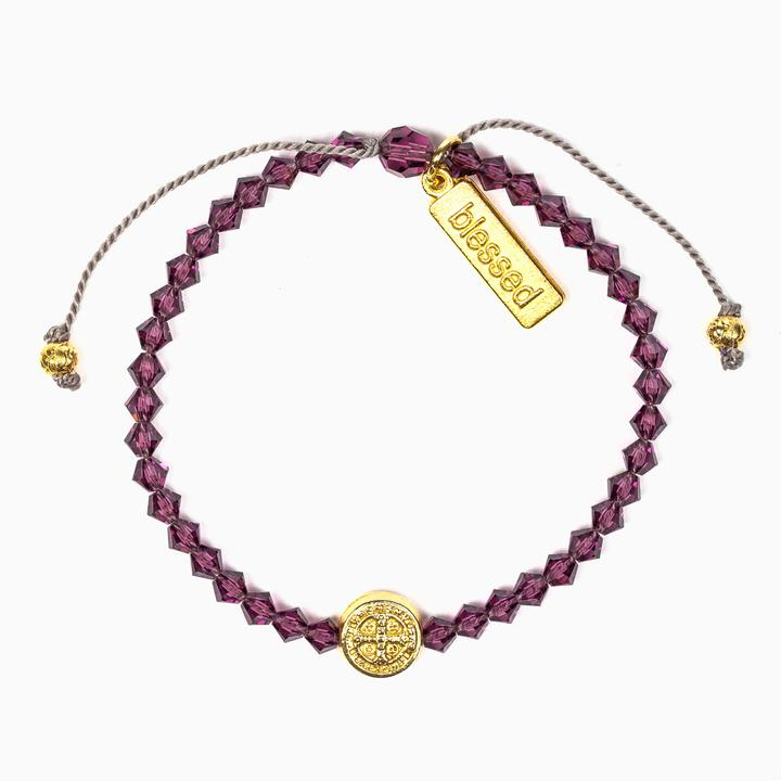 February Birthday Blessings Bracelet | Shasta Rainbow Angels