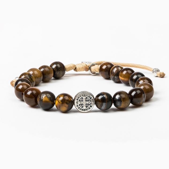 Courage Tiger Eye Power Bracelet | Shasta Rainbow Angels