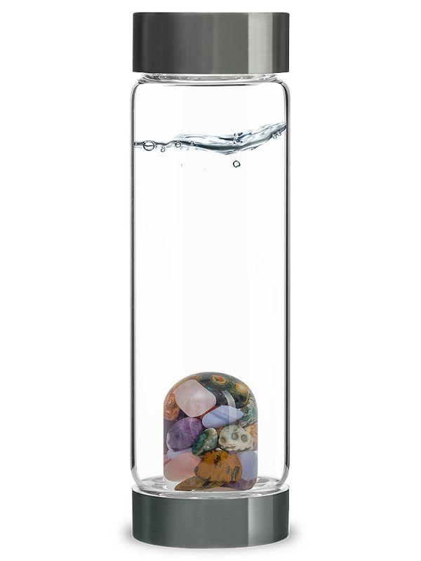 5 Elements Vita Juwel Crystal Water Bottle| Shasta Rainbow Angels