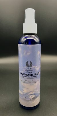 Lavender Sage Room Clearing Spray Mist | Shasta Rainbow Angels