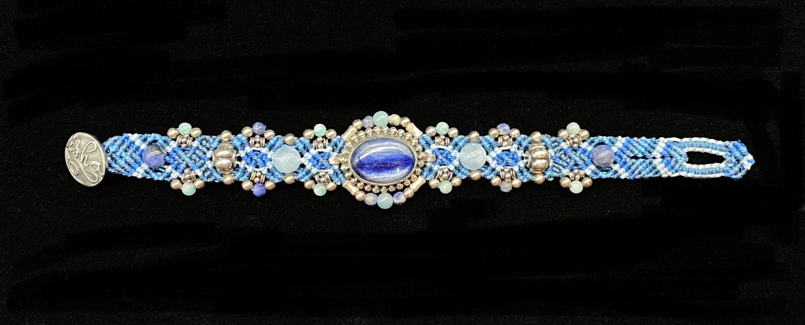 Isha Elafi Sterling Silver Bracelet | Shasta Rainbow Angels