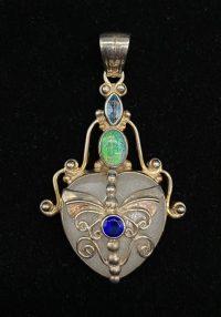 Shankari Sterling Silver Pendant | Shasta Rainbow Angels