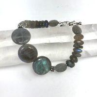 Labradorite Bracelet | Shasta Rainbow Angels